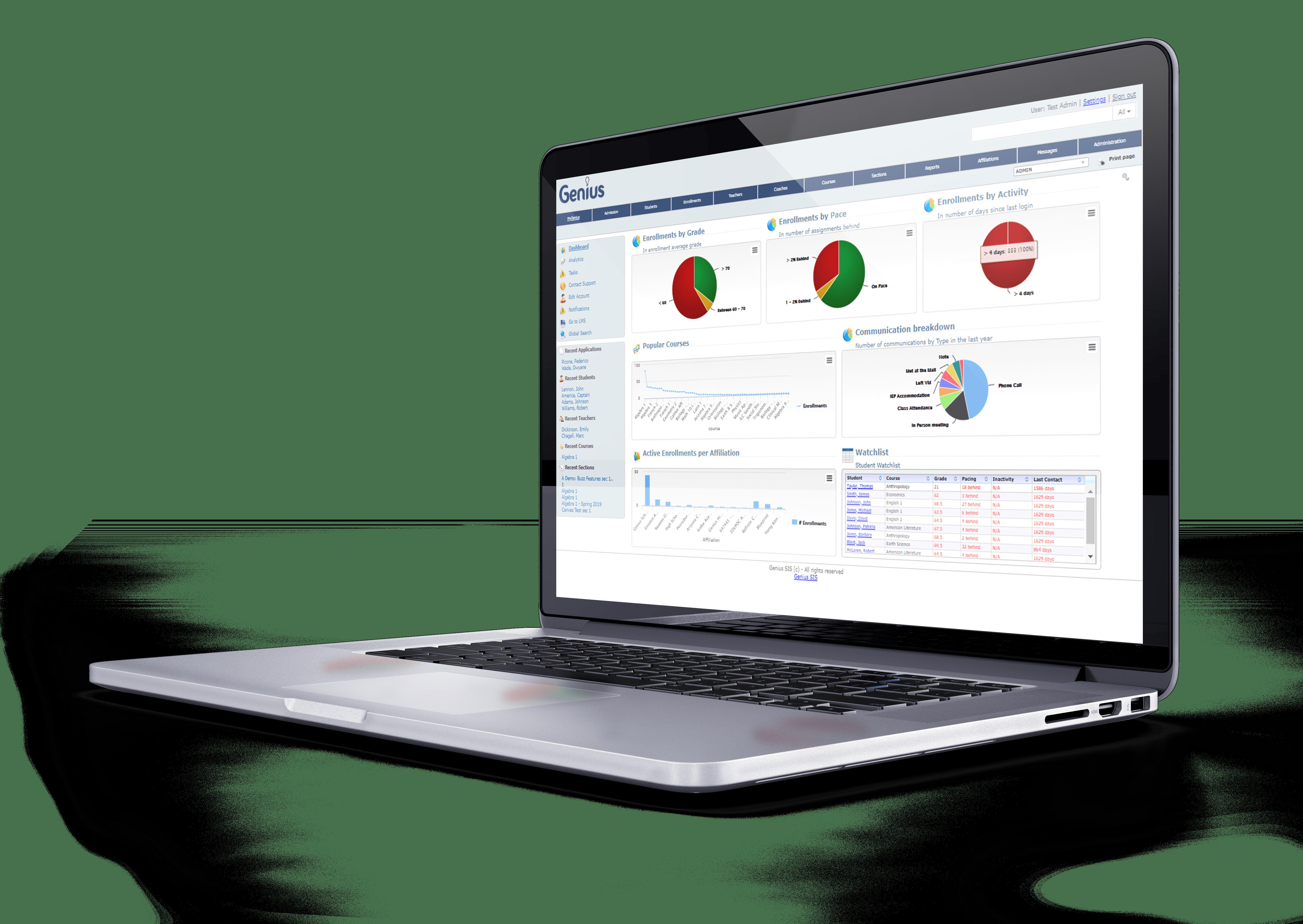 K-12 Online School Management System   Genius SIS